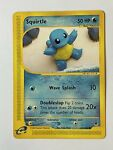 Squirtle 131/165 Common Expedition Base Set Pokemon Card 2002 WOTC E Reader