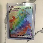 Flapple VMAX 164/163   Battle Styles   Secret Rainbow   Pokemon M-NM