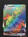 Flapple VMAX Rainbow Secret Rare Battle Styles 164/163 Pokemon Card NEAR MINT NM