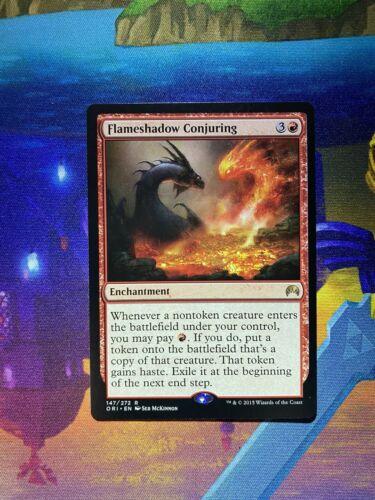 MTG 4X Flameshadow Conjuring X4 ORI Magic Origins SP//NM