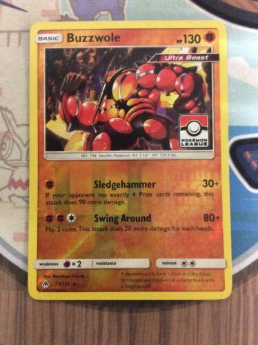 Pokemon TCG - BUZZWOLE - Pokemon League - Holo Rare - Forbidden Light 77/131 - Image 8
