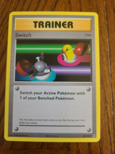 Switch Pokemon Card XY Evolutions 88//108 * NM Reverse Trainer