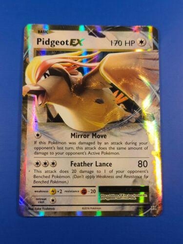 Ultra Rare Holo Pokemon TCG 64//108 XY Evolutions Details about  /Pidgeot EX LP