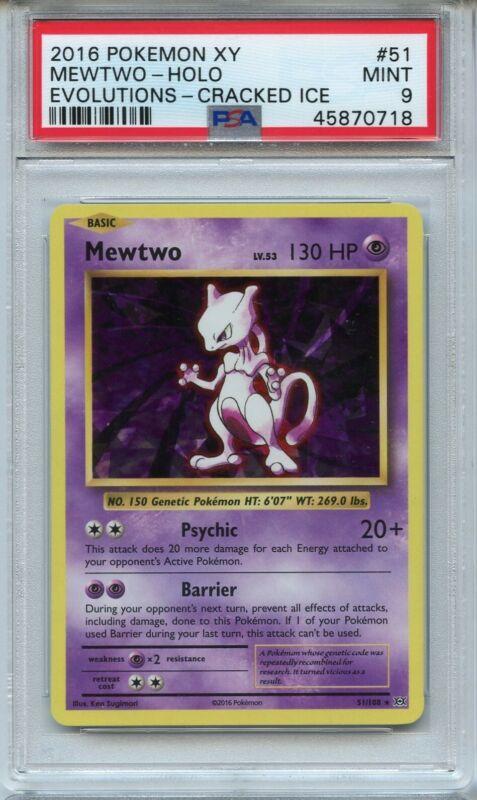 XY EVOLUTIONS MEWTWO 51//108 RARE REVERSE Pokemon