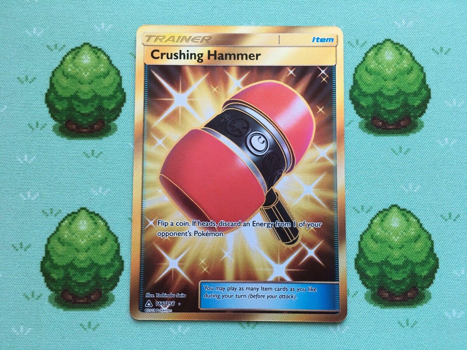 DIGITAL Crushing Hammer Secret Rare pokemon tcg online