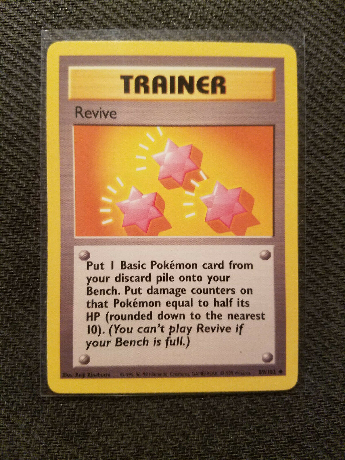 Revive 89//102 Uncommon Trainer Base Set PokГ©mon Card 1999